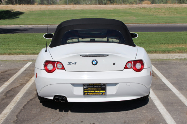 Used 2005 BMW Z4 2.5i | Palm Springs, CA