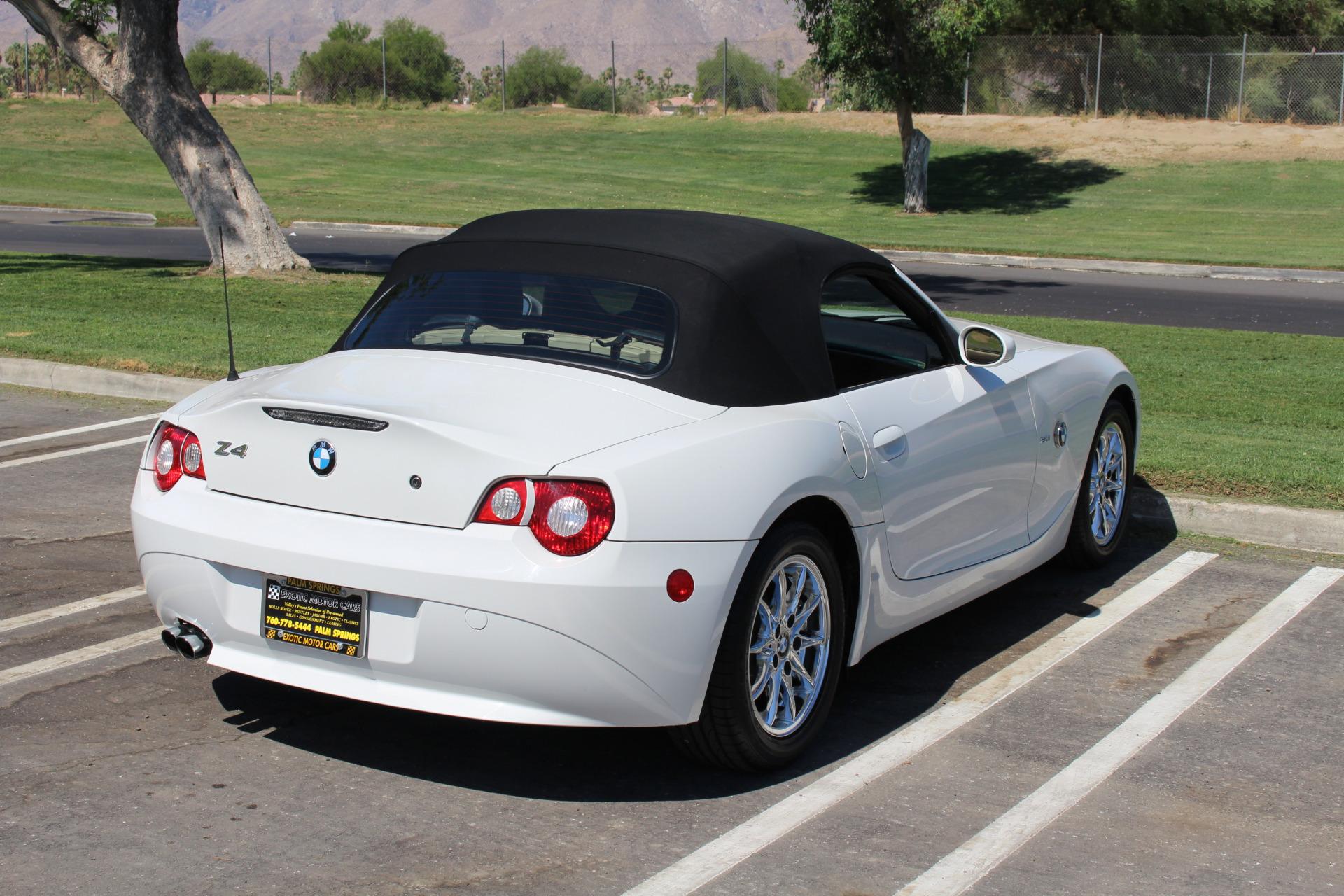 2005 Bmw Z4 2 5i Stock Bm157 For Sale Near Palm Springs