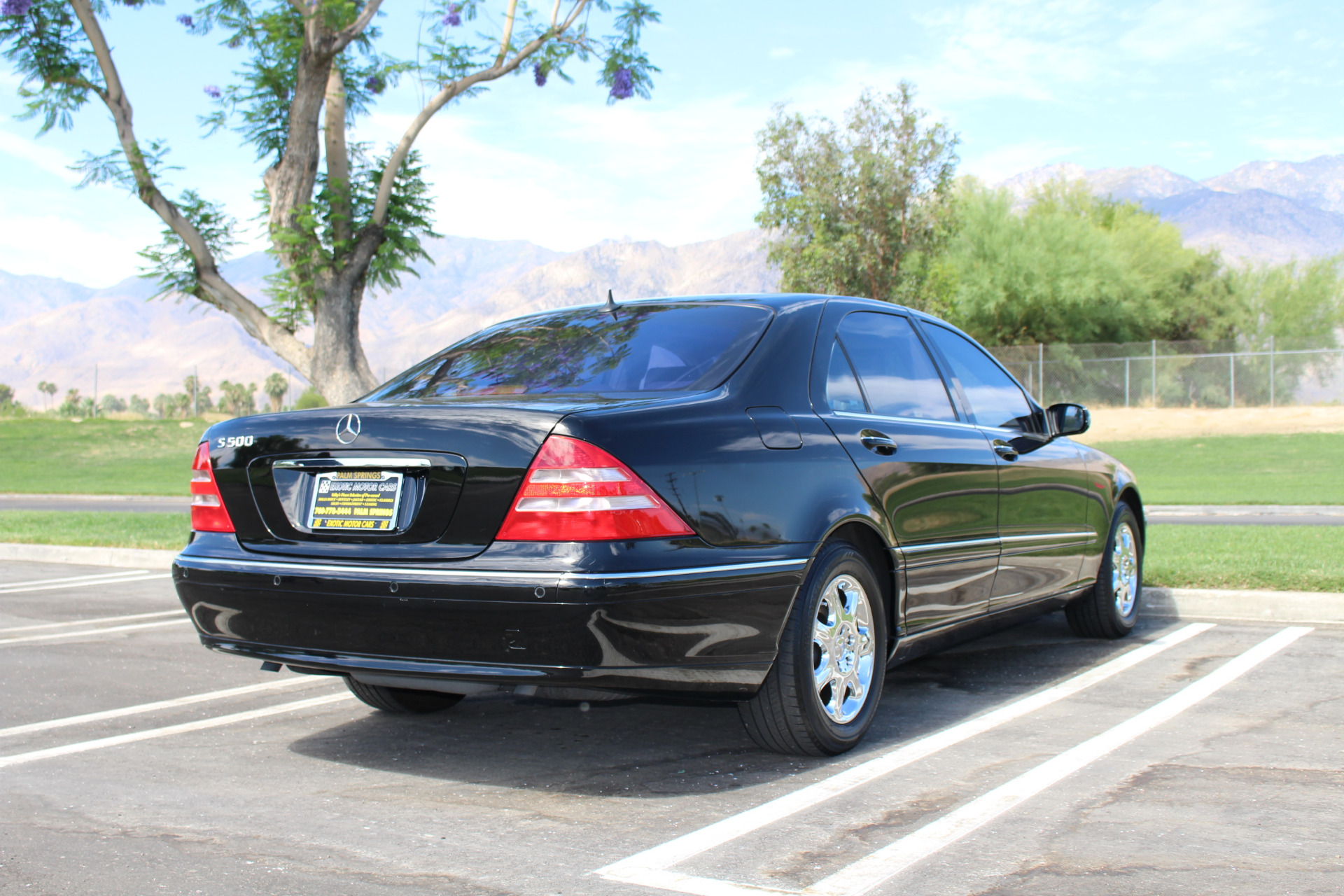 2001 mercedes benz s class s 500 stock m822 for sale near palm springs ca ca mercedes benz. Black Bedroom Furniture Sets. Home Design Ideas