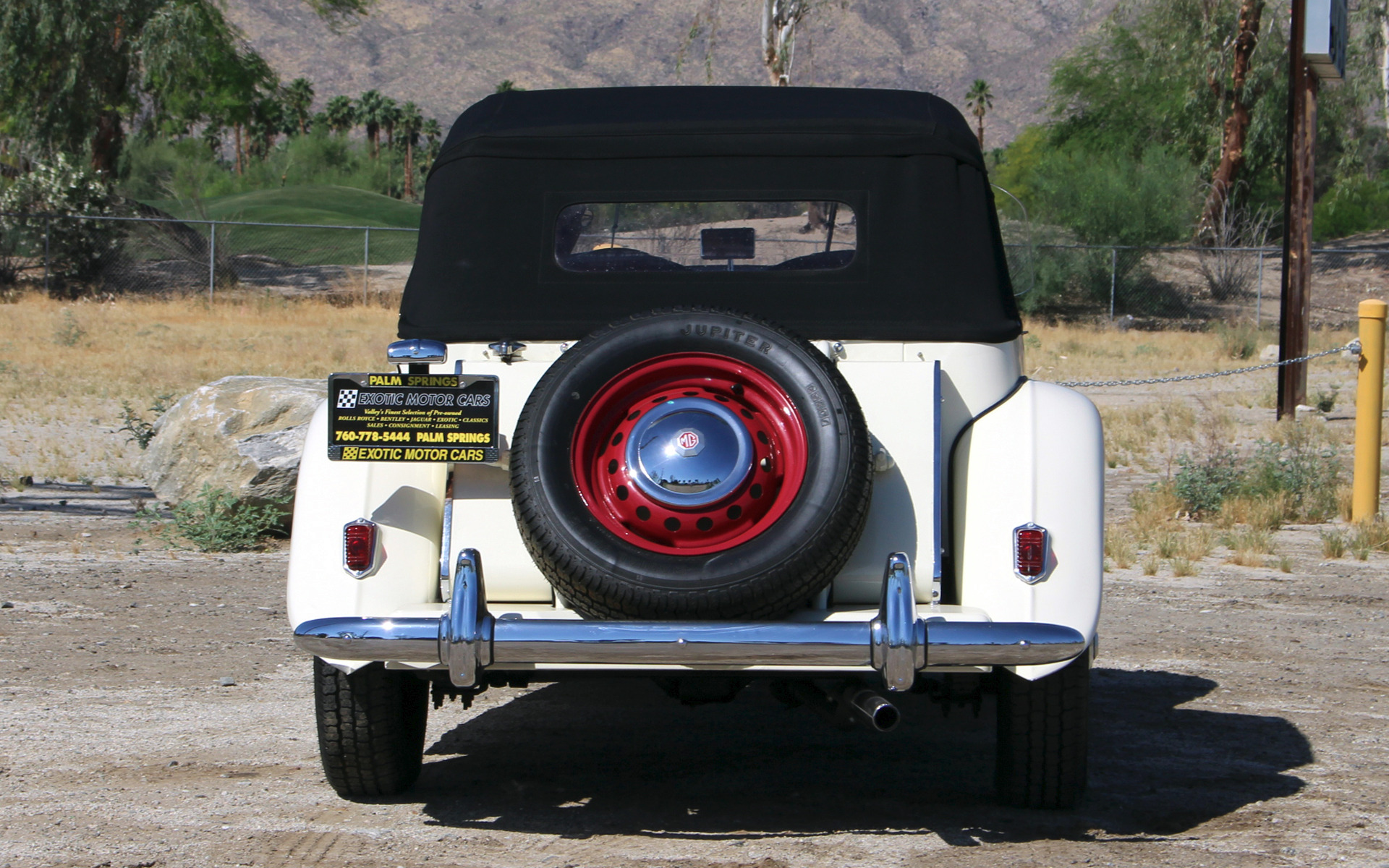1952 MG TD Stock MG24 for sale near Palm Springs CA