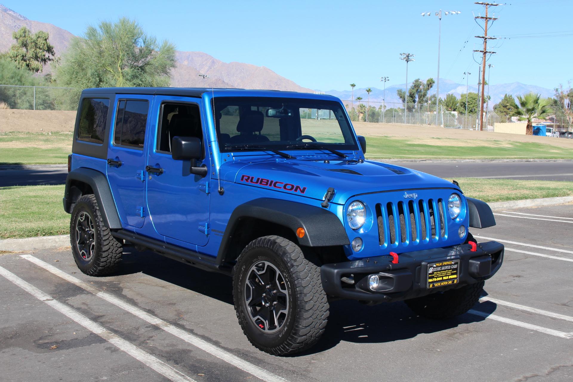 2015 Jeep Wrangler Unlimited Rubicon Hard Rock Stock