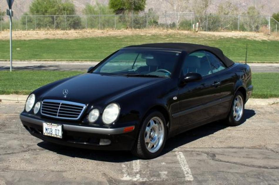 Used 1999 Mercedes Benz Clk320 Cabriolet