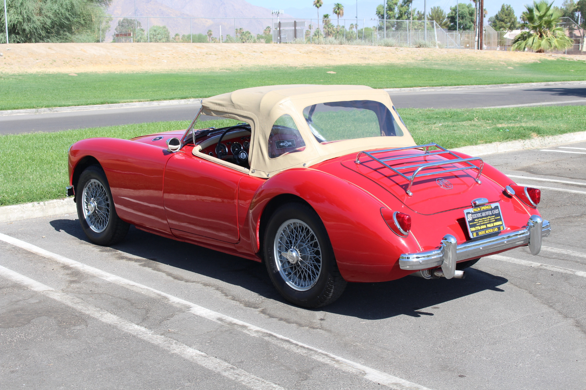 Used-1957-MG-A