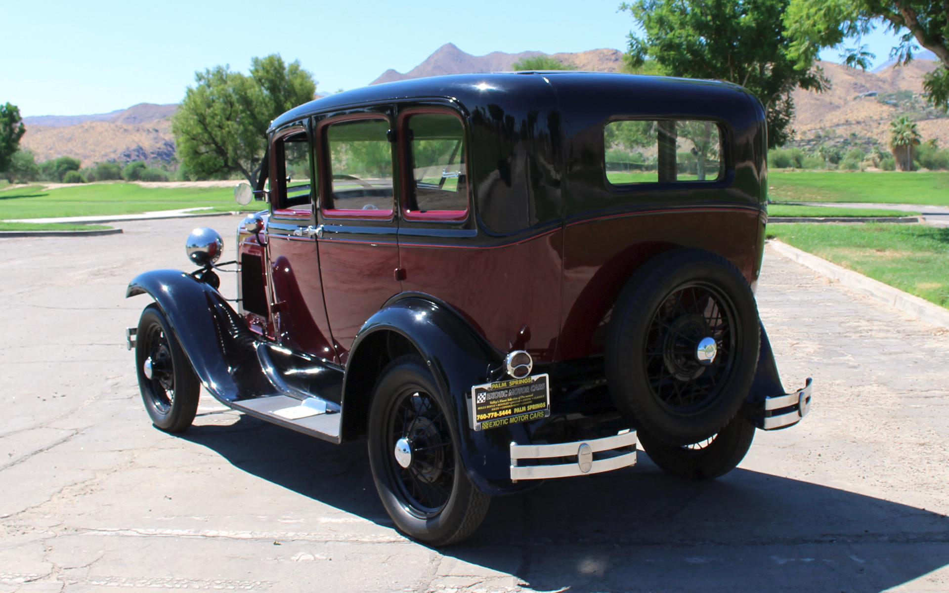 Used-1931-Ford-Model-A-Fordor & 1931 Ford Model A Fordor Stock # F333 for sale near Palm Springs ... markmcfarlin.com