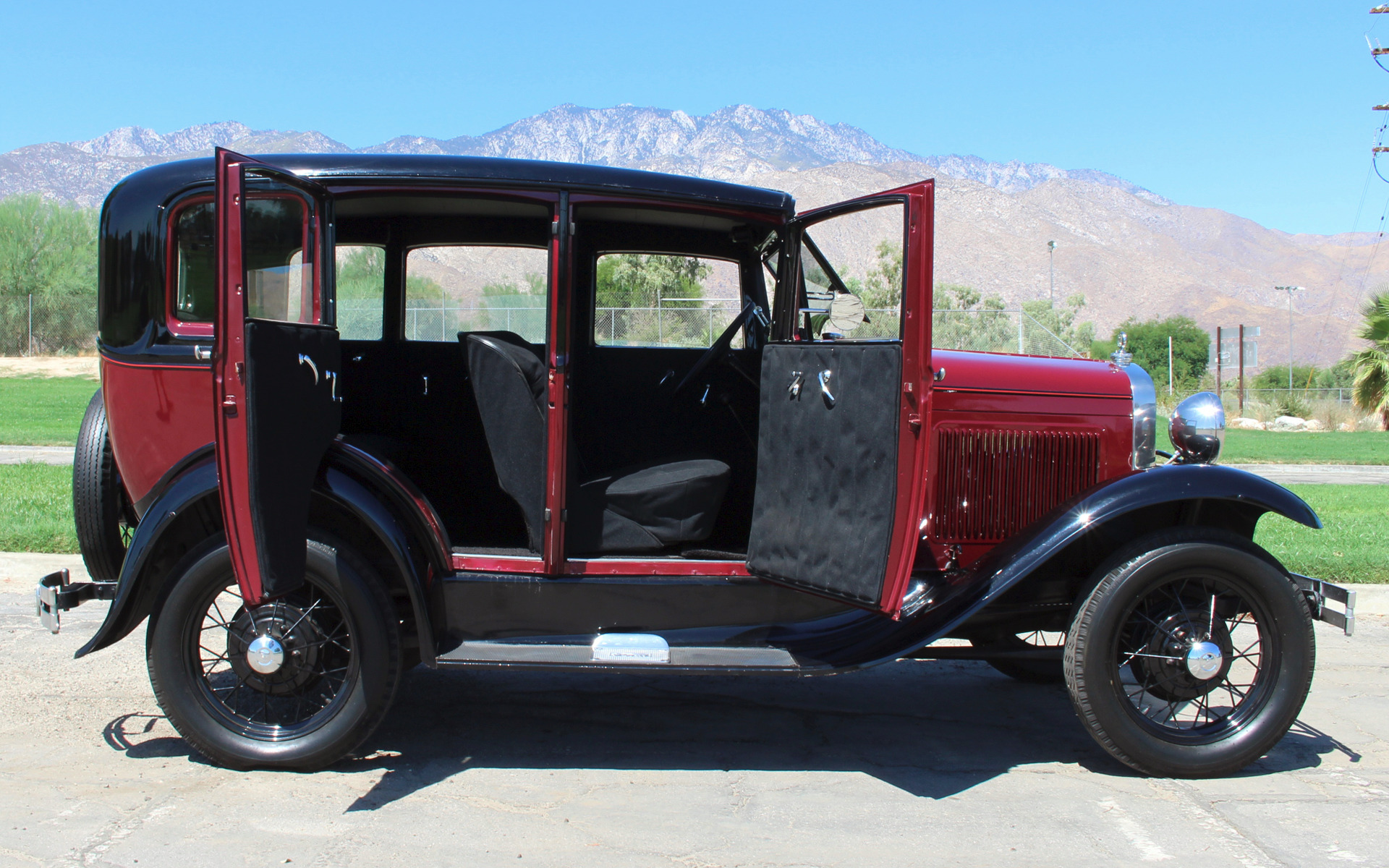 1931 ford model a fordor stock f333 for sale near palm for Ford palm springs motors