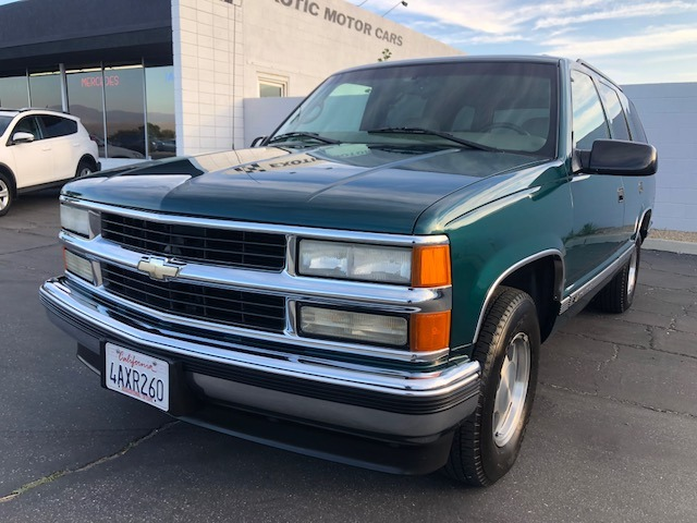 1999 Chevrolet Tahoe Lt Stock Ch269 For Sale Near Palm Springs Ca Ca Chevrolet Dealer