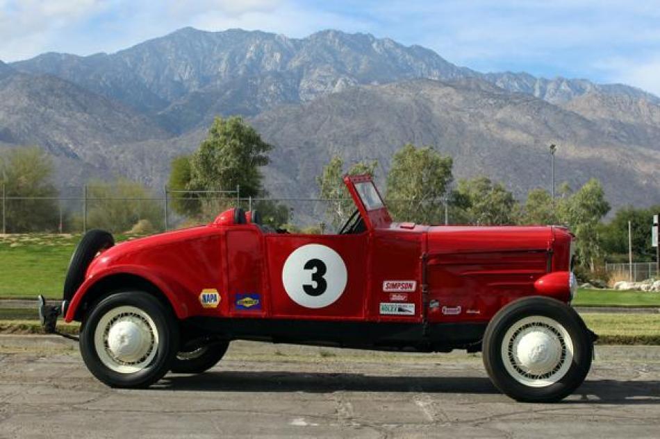 Palm Springs Vintage Car Dealer