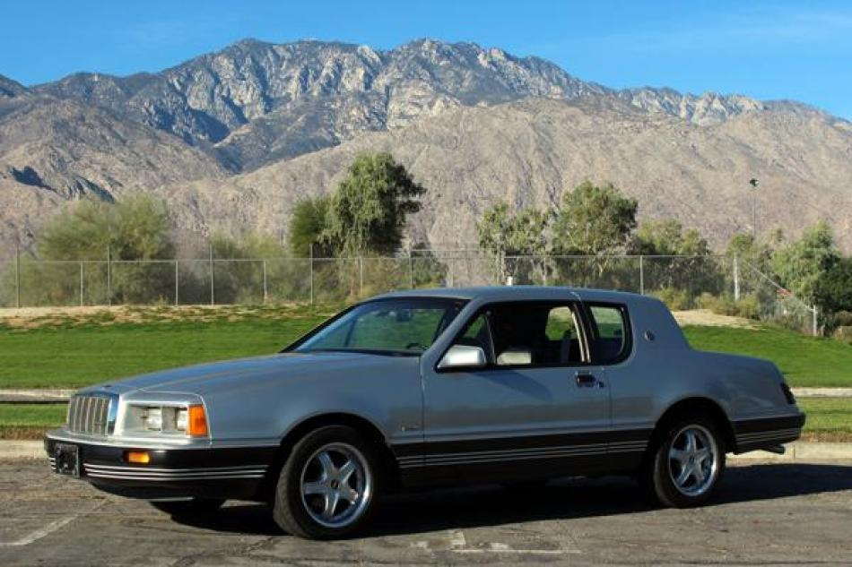 1984 Mercury Cougar Xr 7 Xr7 Turbo Stock Me34 For Sale