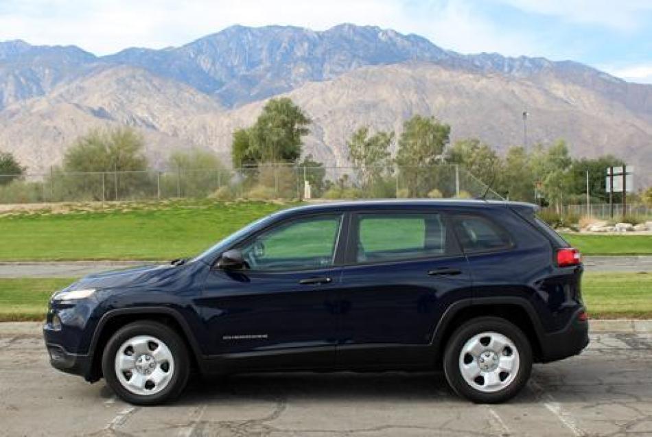 2015 jeep cherokee sport stock je43 for sale near palm springs ca ca jeep dealer. Black Bedroom Furniture Sets. Home Design Ideas