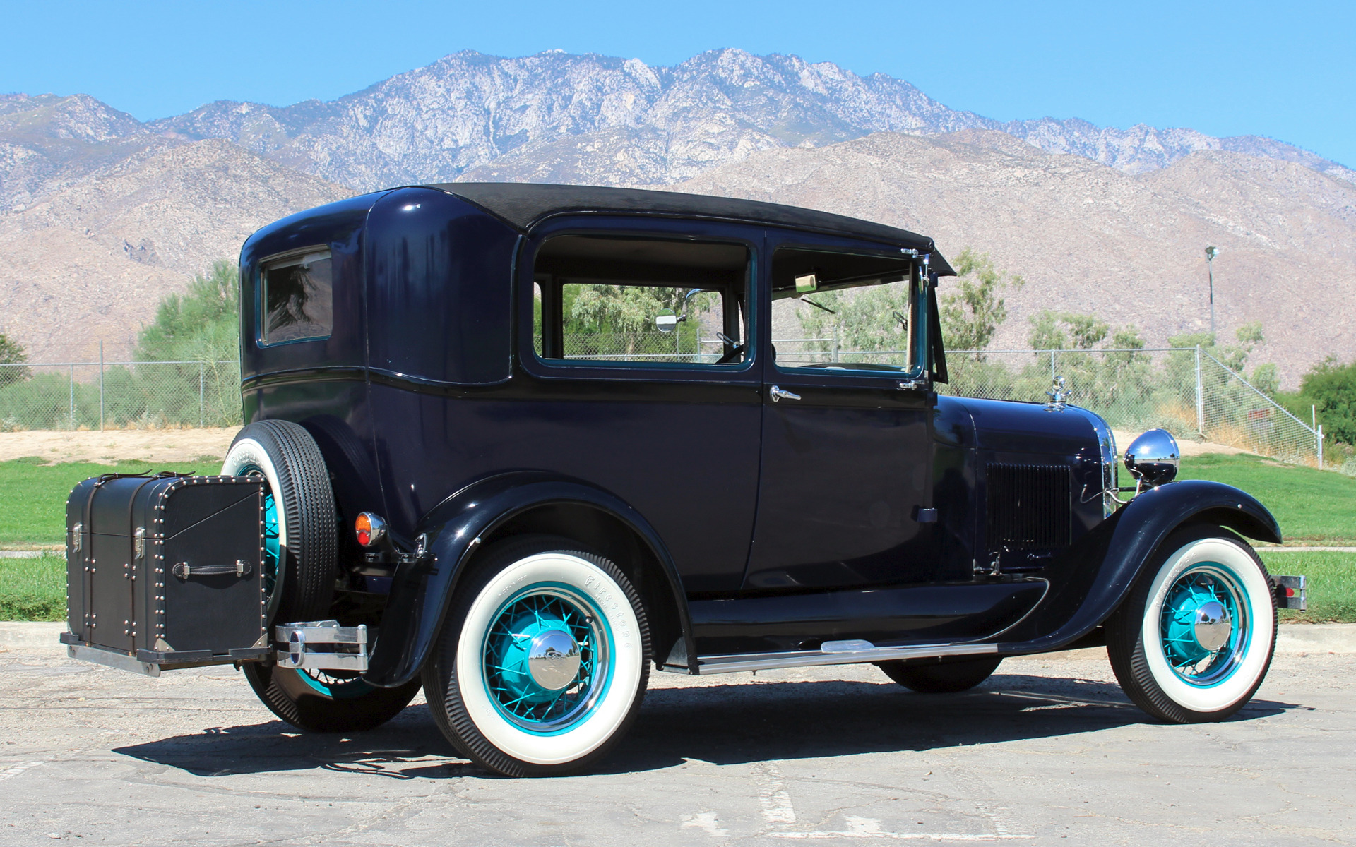 My Ford Benefits >> 1929 Ford Model A Tudor Stock # F340 for sale near Palm Springs, CA | CA Ford Dealer