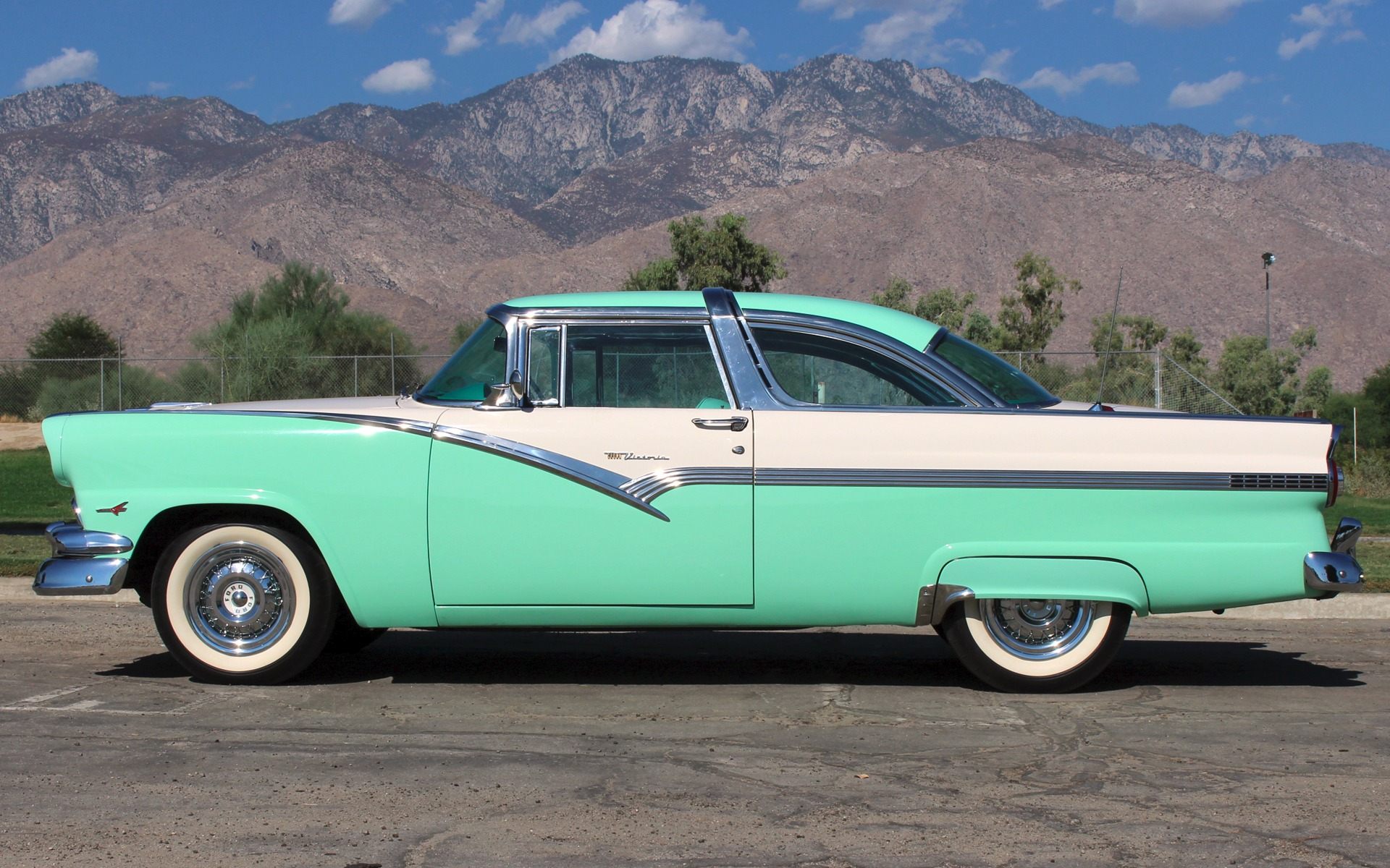 Used 1956 ford fairlane crown victoria palm springs ca