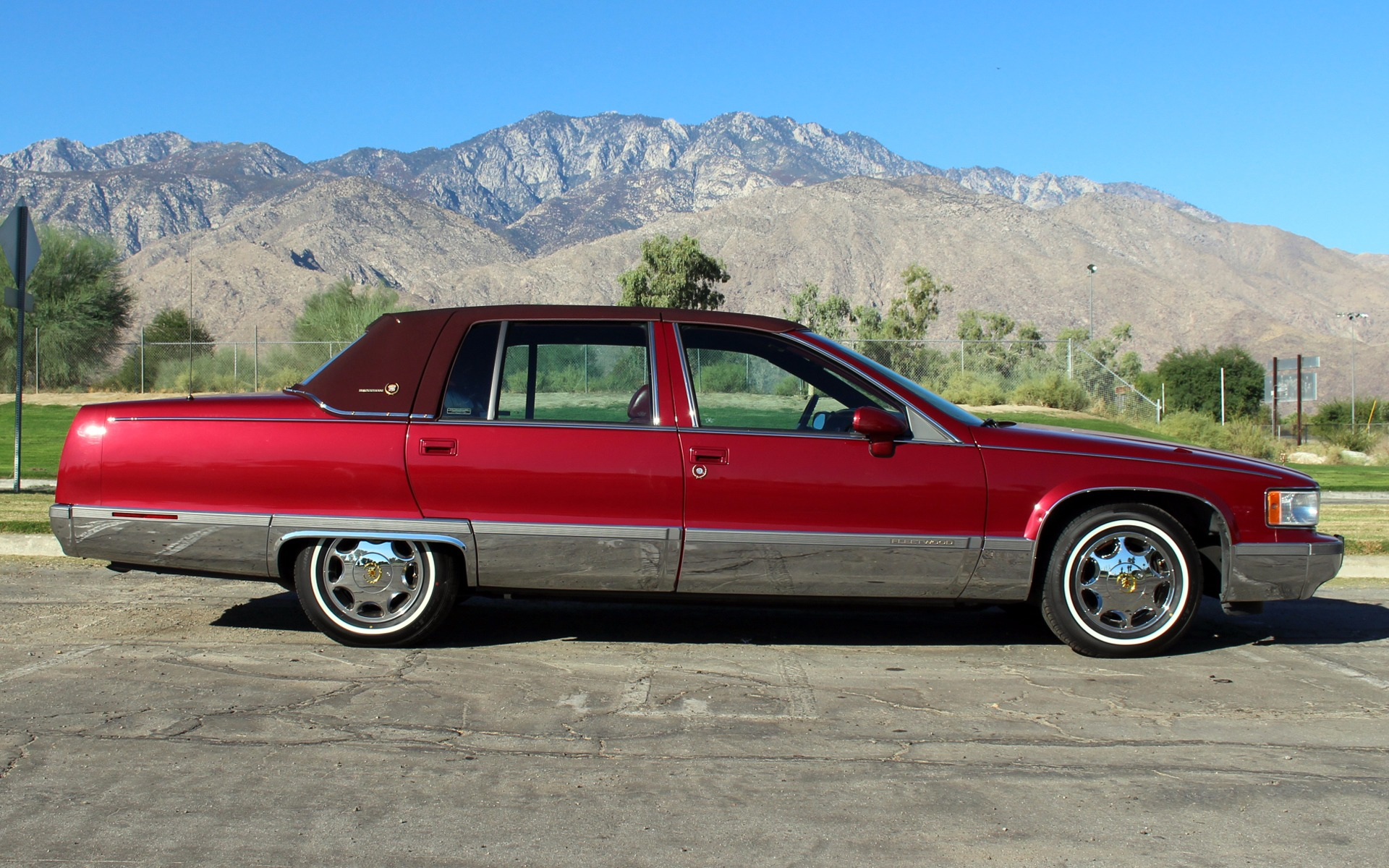 1993 Cadillac Fleetwood Brougham Stock Ca425 For Sale