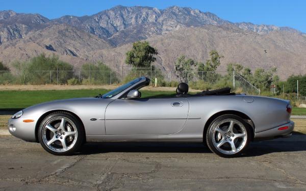 2001 jaguar xkr silverstone stock jo238 for sale near for Exotic motors palm springs
