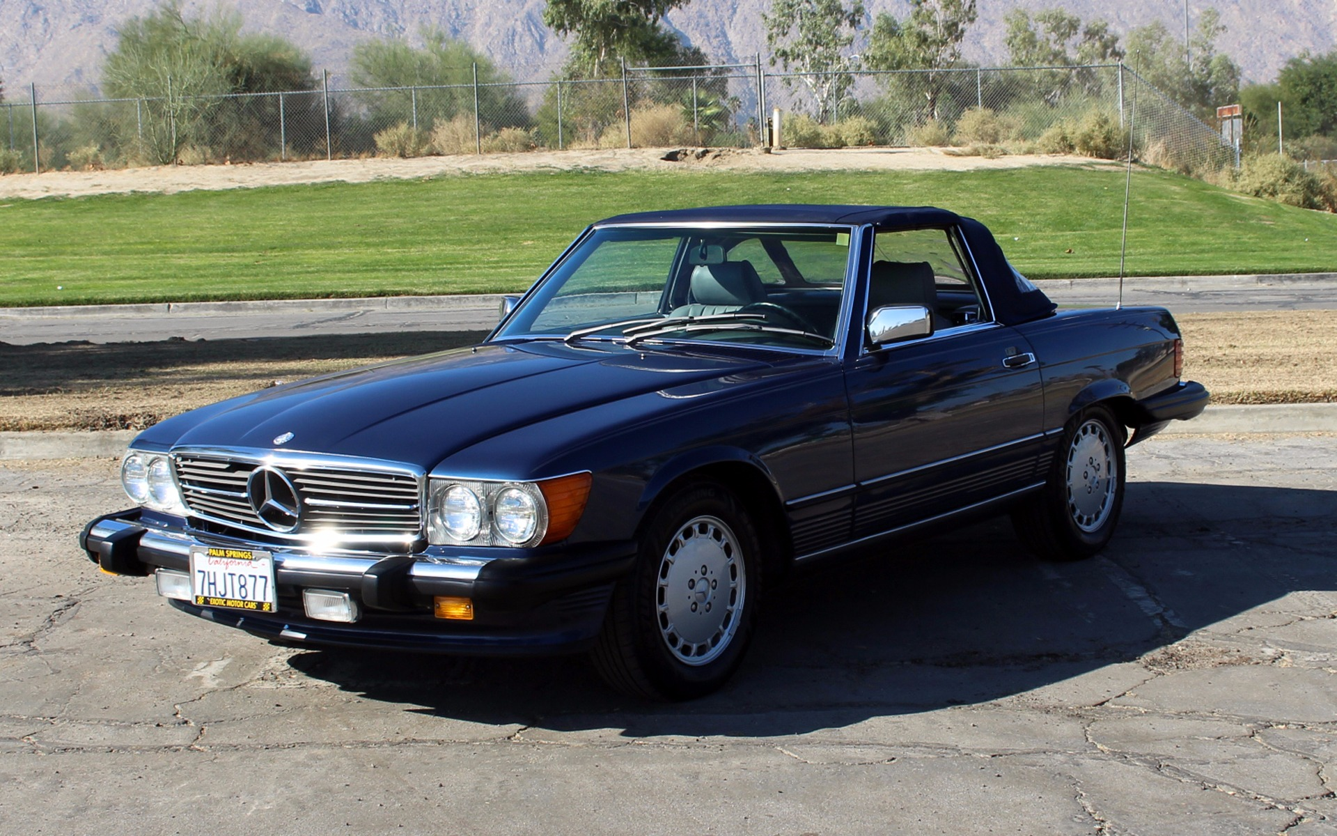 1989 mercedes benz 560 class 560 sl stock m893 for sale. Black Bedroom Furniture Sets. Home Design Ideas