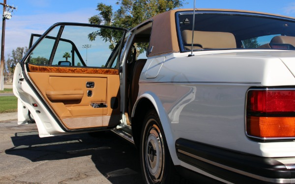 1989 rolls royce silver spur lwb stock r447 for sale for Exotic motor cars palm springs ca