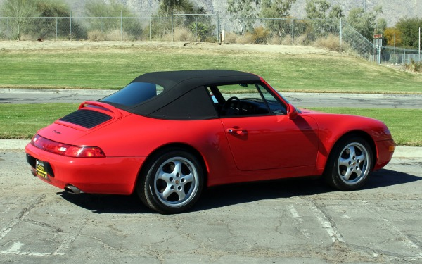 1997 porsche 911 carrera stock po239 for sale near palm for Exotic motors palm springs