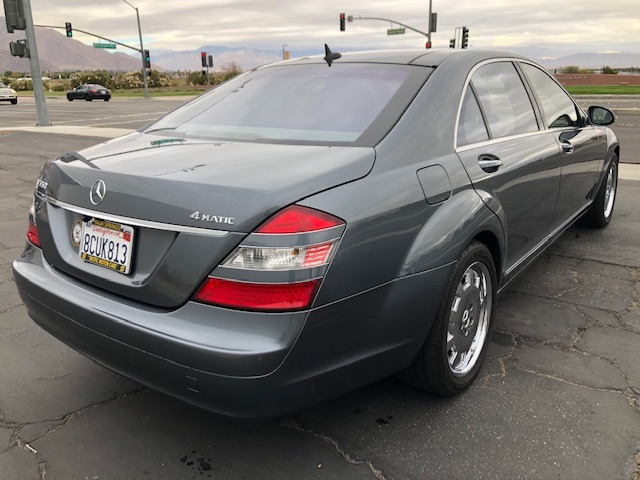 2007 Mercedes-Benz S-Class S 550 4MATIC Stock # M901 for ...