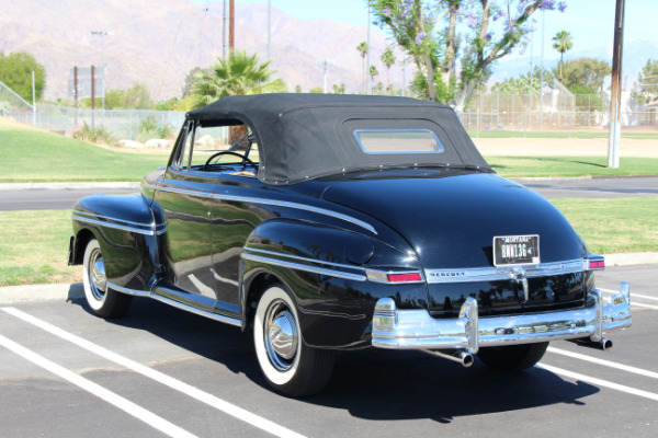 1948 mercury convertible stock me36 for sale near palm for Exotic motors palm springs