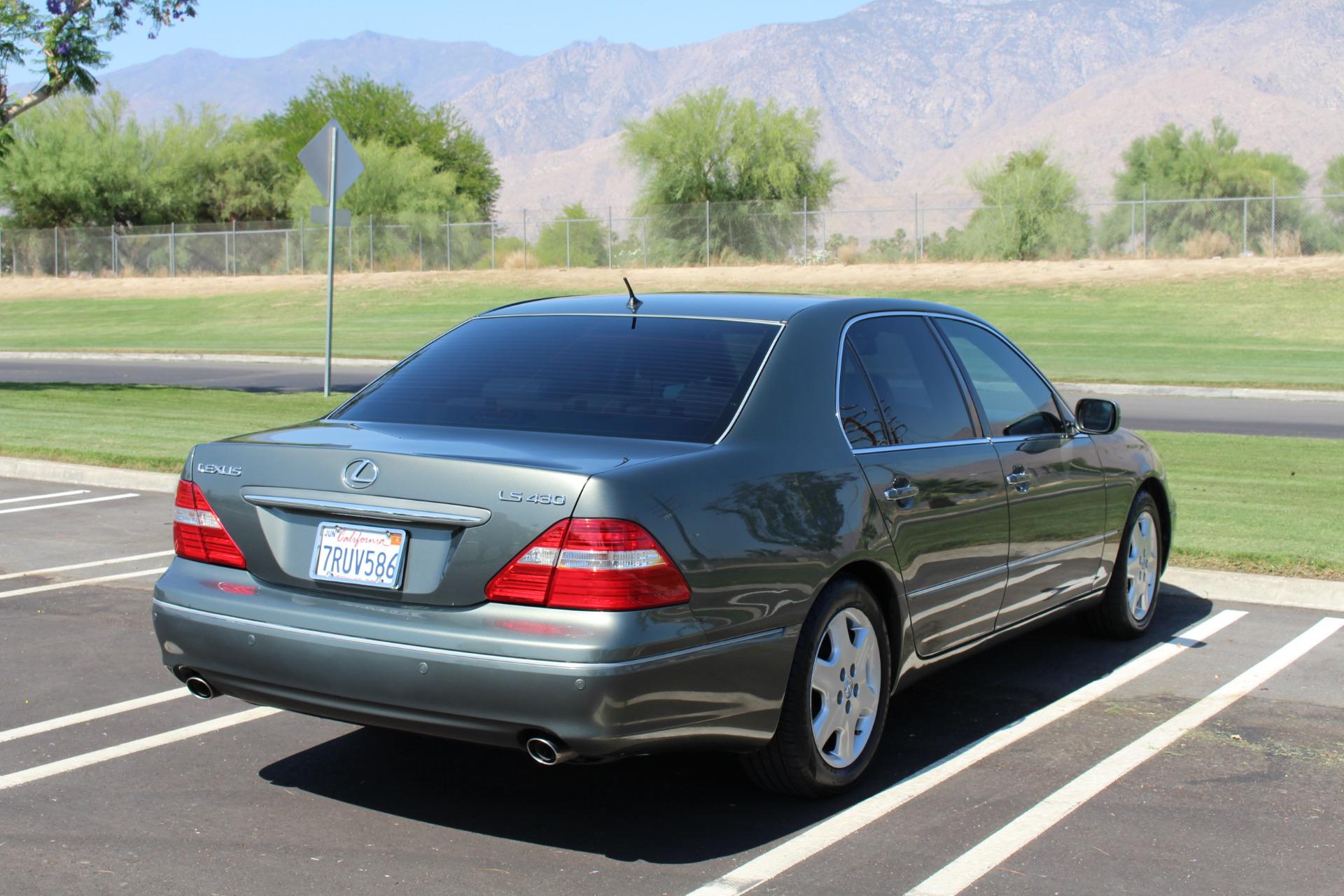 2004 Lexus Ls 430 Stock Le46 For Sale Near Palm Springs