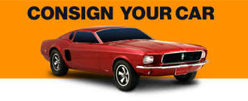 Consign your vehicle